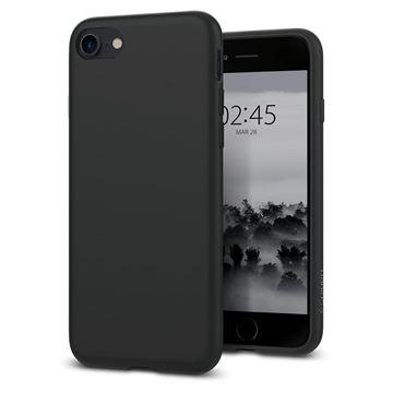 Spigen Liquid Crystal, matte black - iPhone SE/8/7