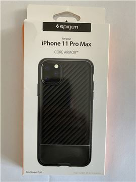 Spigen Core Armor, black - iPhone 11 Pro Max