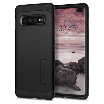 Spigen Slim Armor, black - Galaxy S10+