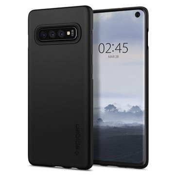 Spigen Thin Fit, black - Galaxy S10