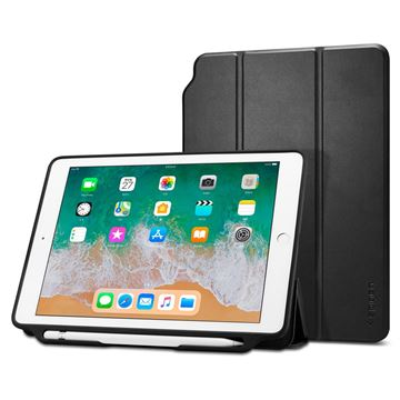 Spigen Smart Fold 2, black - iPad 9.7