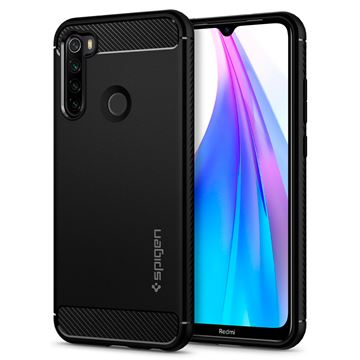 Spigen Rugged Armor, black - Xiaomi Redmi Note 8T