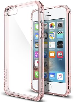 Spigen Crystal Shell, rose crystal- iPhone SE/5s/5