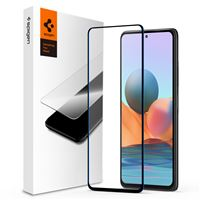 Spigen Glass FC, black - Xiaomi Redmi Note 10