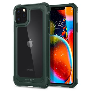 Spigen Gauntlet, hunter green - iPhone 11 Pro Max