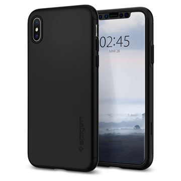 Spigen Thin Fit 360, black - iPhone XS/X