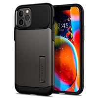 Spigen Slim Armor, gunmetal - iPhone 12/Pro