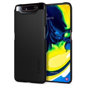 Spigen Thin Fit, black - Galaxy A80