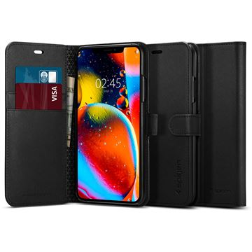 Spigen Wallet S, black - iPhone 11