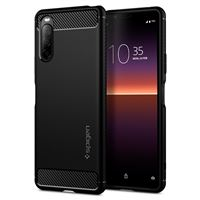 Spigen Rugged Armor, black - Xperia 10 II