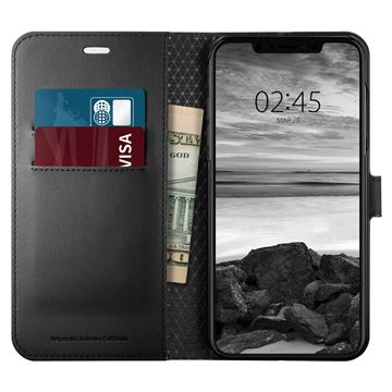 Spigen Wallet S, black - iPhone XS Max