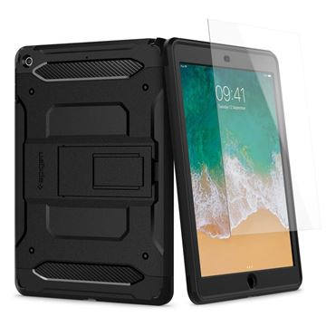 Spigen Pro Guard, black - iPad 9.7