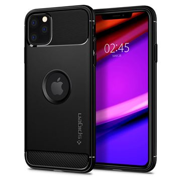 Spigen Rugged Armor, black - iPhone 11 Pro Max