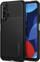 Spigen Rugged Armor, black - H. Nova 5T/Honor 20/S