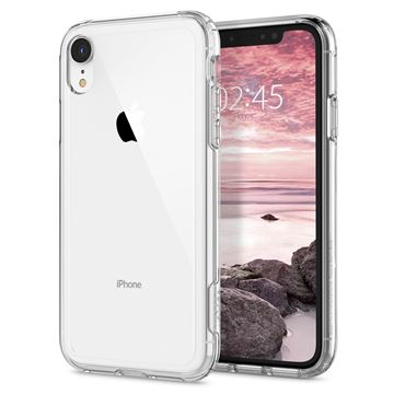 Spigen Crystal Hybrid, clear - iPhone XR