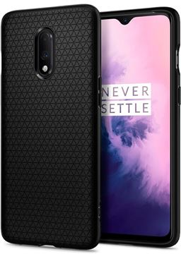 Spigen Liquid Air, black - OnePlus 7T