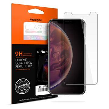 Spigen Glass GLAS.tR SLIM HD - iPhone 11/XR