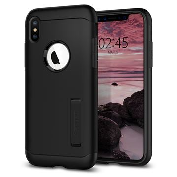 Spigen Slim Armor, black - iPhone XS Max