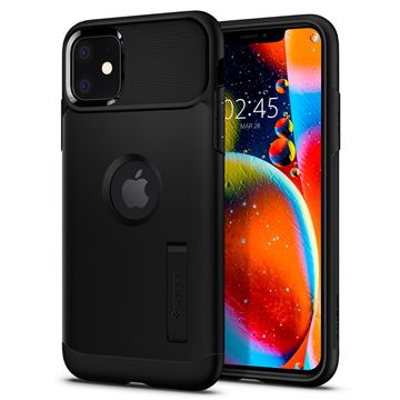 Spigen Slim Armor, black - iPhone 11