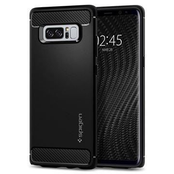 Spigen Rugged Armor, black - Galaxy Note8