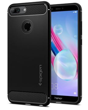 Spigen Rugged Armor, black - Honor 9 Lite
