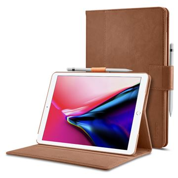 Spigen Stand Folio, brown - iPad Air/Pro 10.5