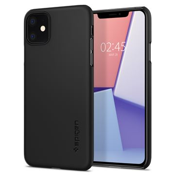 Spigen Thin Fit, black - iPhone 11
