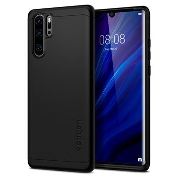 Spigen Thin Fit 360, black - Huawei P30 Pro