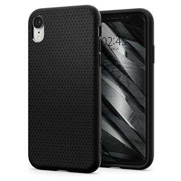 Spigen Liquid Air, black - iPhone XR