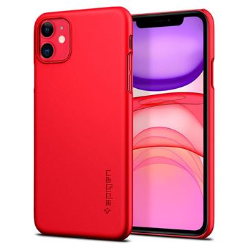 Spigen Thin Fit, red - iPhone 11