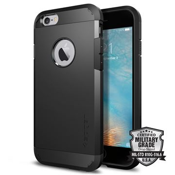 Spigen Tough Armor, black - iPhone 6/6s