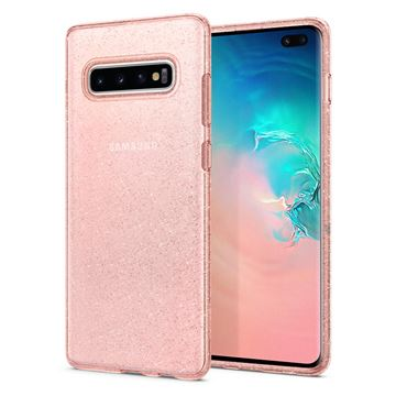 Spigen Liquid Crystal Glitter, rose - Galaxy S10+