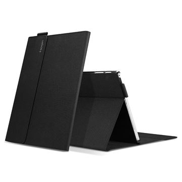 Spigen Stand Folio, black - Surface Pro 7/6