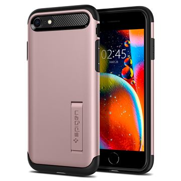 Spigen Slim Armor, rose gold - iPhone SE/8/7