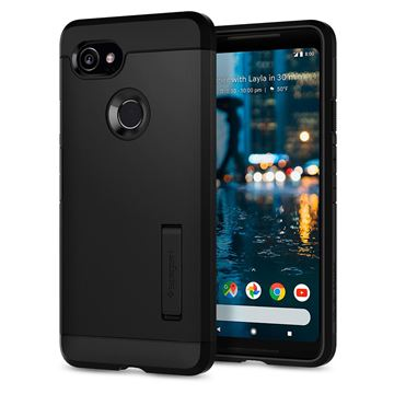 Spigen Tough Armor, black - Pixel 2 XL