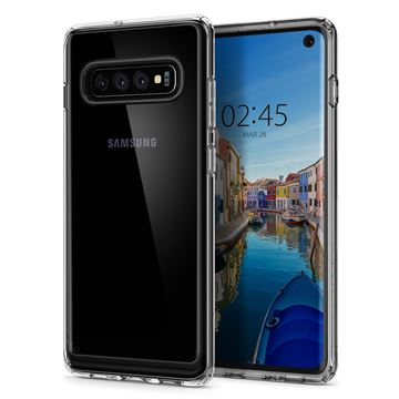 Spigen Ultra Hybrid, crystal clear - Galaxy S10