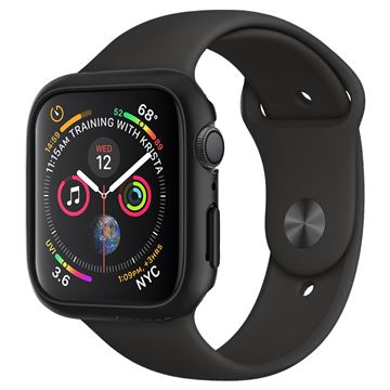 Spigen Thin Fit, black - Apple Watch 5/4 44 mm
