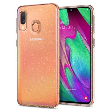 Spigen Liquid Crystal Glitter, clear - Galaxy A40