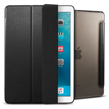 Spigen Smart Fold Case, black - iPad 9.7""