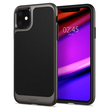 Spigen Neo Hybrid, gunmetal - iPhone 11