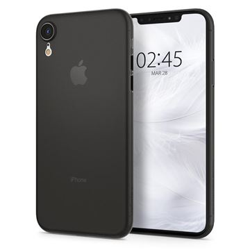 Spigen Air Skin, black - iPhone XR