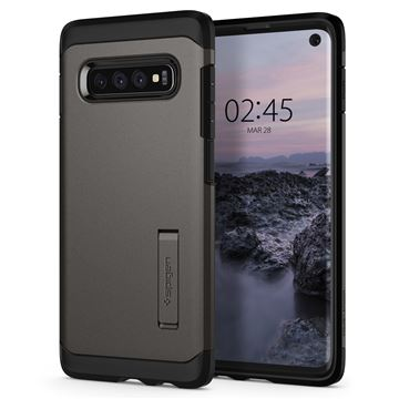 Spigen Tough Armor, gunmetal - Galaxy S10
