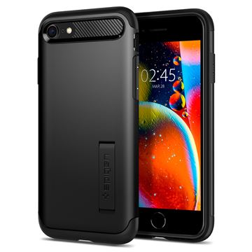 Spigen Slim Armor, black - iPhone SE/8/7