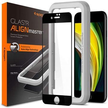 Spigen AlignMaster FC, black - iPhone SE/8/7