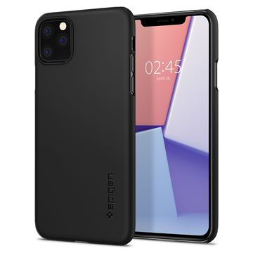 Spigen Thin Fit, black - iPhone 11 Pro Max