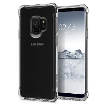Spigen Rugged Crystal, clear - Galaxy S9