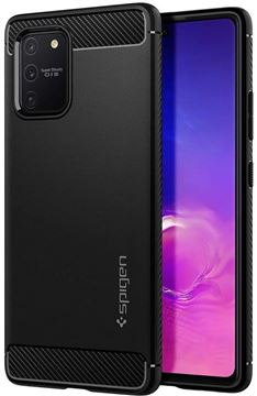 Spigen Rugged Armor, black - Galaxy S10 Lite