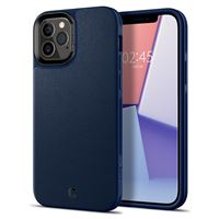 Spigen Leather Brick, navy - iPhone 12/Pro
