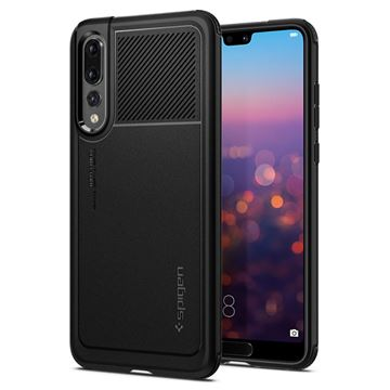 Spigen Marked Armor, black - Huawei P20 Pro