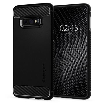 Spigen Rugged Armor, black - Galaxy S10e